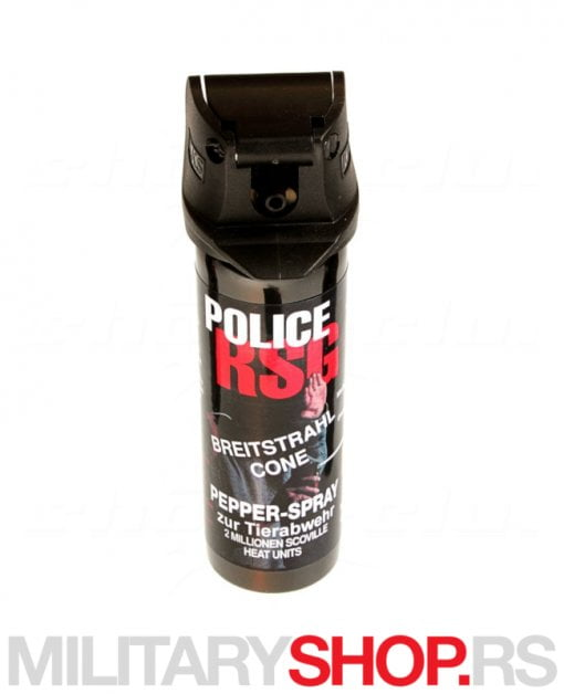 Biber sprej Suzavac KKS Police Magla sa sitnim kapljicama