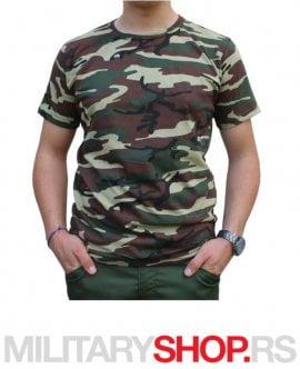 vojna majica od pamuka Woodland