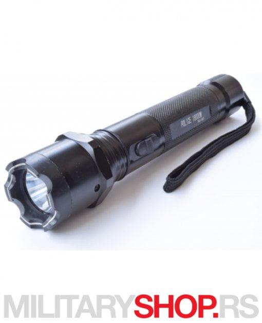 Tejzer elektrošoker i led lampa Police XQ 1107