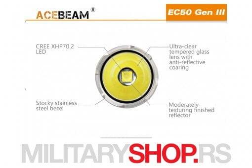 Lampa Acebeam EC50 generacija III