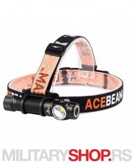 Lampa AceBeam H15 sa dodatkom za glavu