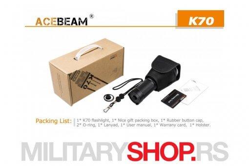 Lampa najvećeg dometa Acebeam K70