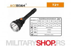 Lovacka lampa Acebeam T21
