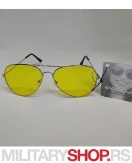 Naočare za Sunce Aviator Enzoriva Silver Day