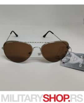 Aviator Enzoriva naočare za Sunce model Silver Evening
