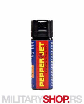 Biber sprej suzavac Euro Security Pepper JET 50 ml