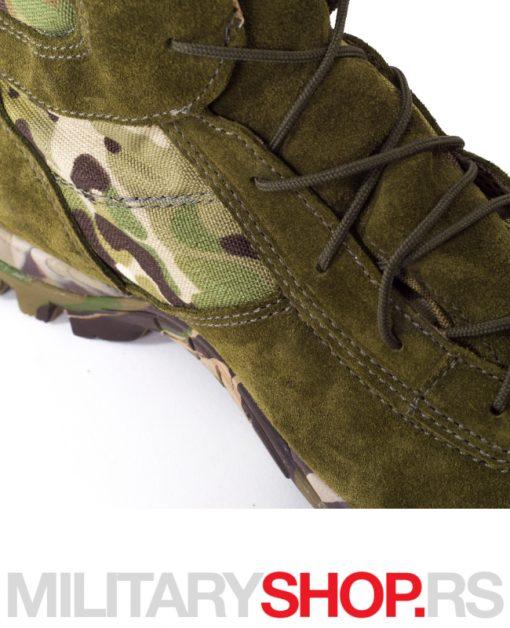 Maskirne zelene poluduboke čizme