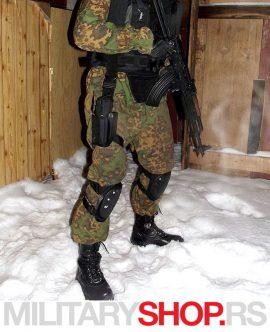 Duboka kožna ruska zimska čizma BLACK WOLF