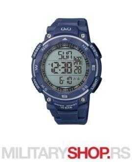 Digitalni sat teget boja Q&Q M124J006Y