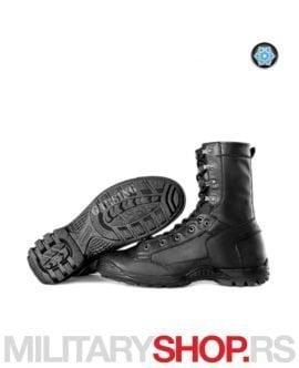 Ruske crne duboke kožne čizme Air Fleece