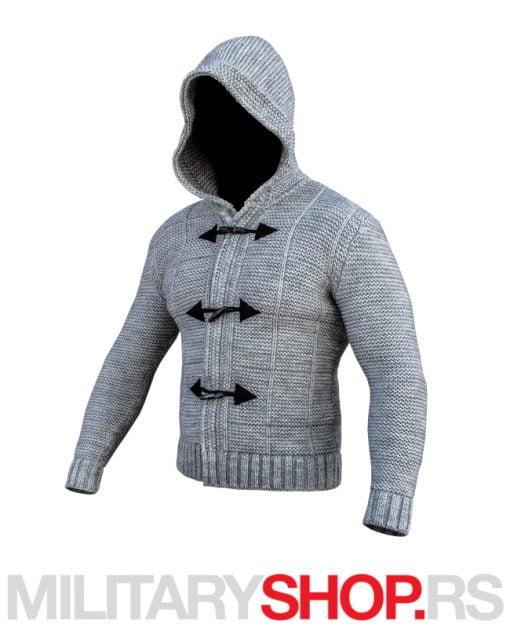 Assassin Džemper svetlo sive boje