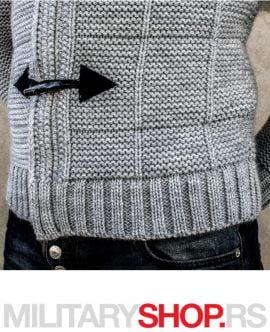 Assasin Džemper svetlo sive boje