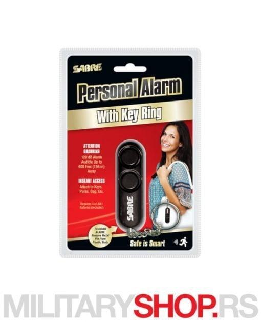 Crni alarm privezak