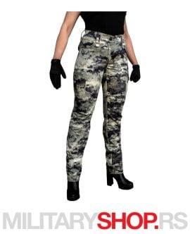 Digital ženske pantalone Pantera Kandagar
