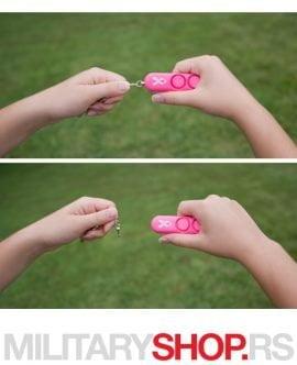 Lični alarm privezak Sabre Red Pink - Samoodbrana