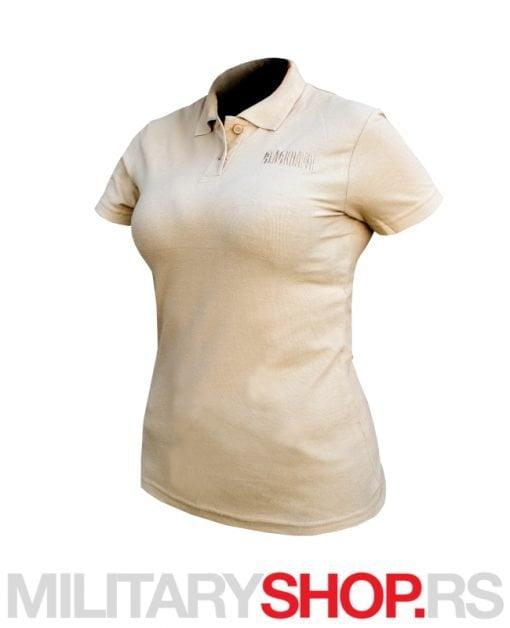 Polo majica za žene Blackhawk bež
