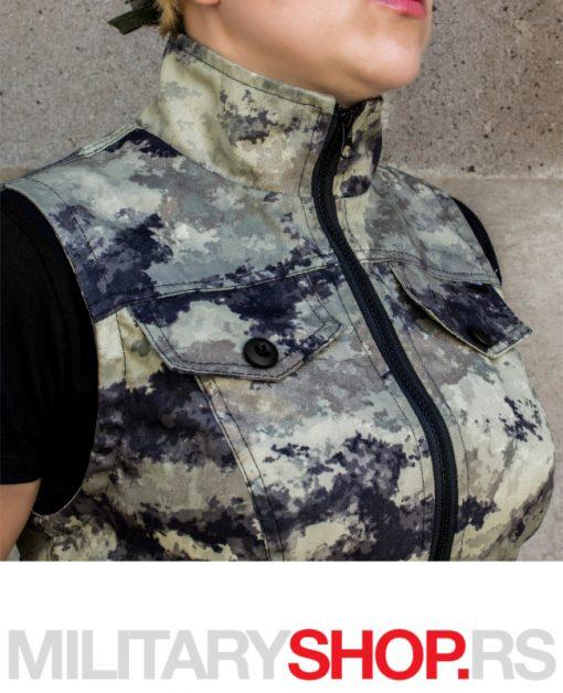 Maskirni ženski Military prsluk