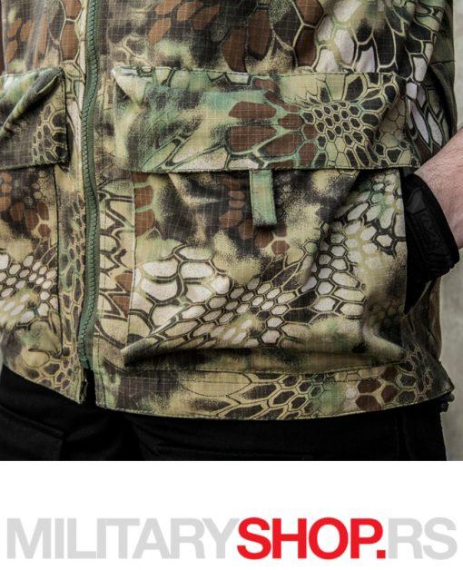 Letnji lovački prsluk Armoline Hunter Kryptek šara Military