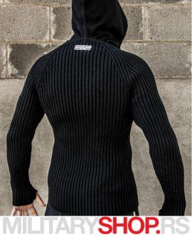 Džemper sa kapuljačom STALKER crni