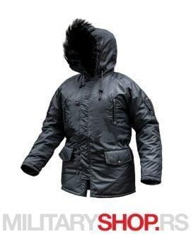 Zimska jakna ALJASKA siva Armoline