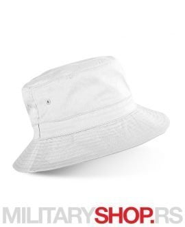 Beli letnji pamučni šešir RIO