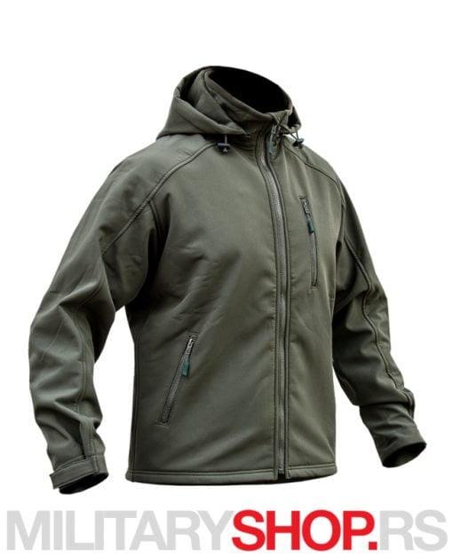 Zelena SoftShell jakna Division Armoline
