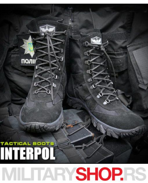 Taktička policijska čizma INTERPOL