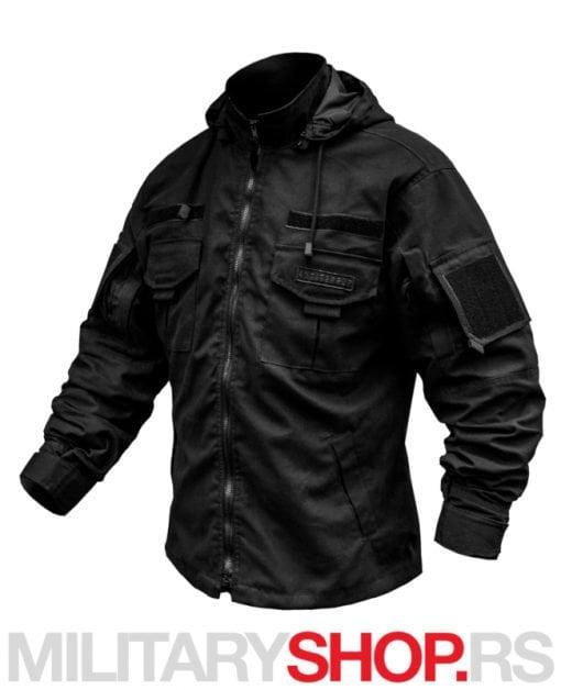 Crna jakna za prelazni period Antiterror Armoline