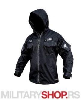 PUNISHER Armoline crna jakna