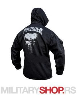 PUNISHER Armoline crna jakna