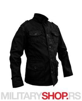 Retro jakna Armoline Kilborn crna