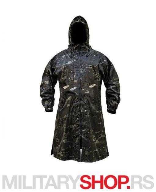 Kabanica mantil za kišu Black multicam šara