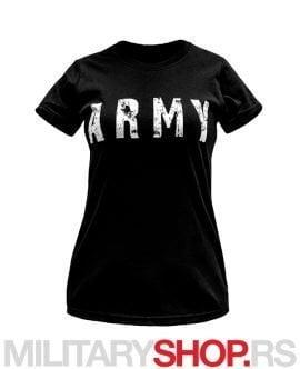 Ženska majica sa natpisom ARMY