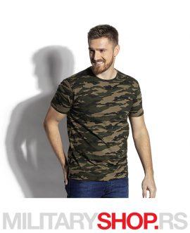 Military maskirna kamuflažna majica Woodland