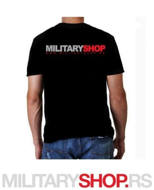 Majica sa logom MILITARY SHOP