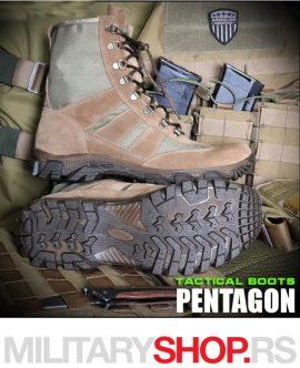Vojna taktička čizma Pentagon kaki ARMOLINE