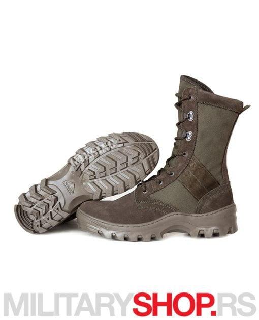 Čizme od prevrnute kože i Cordure