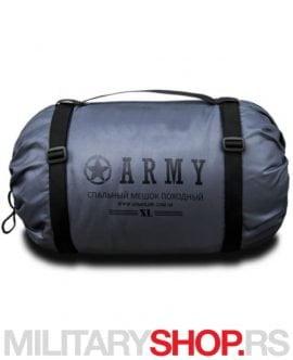 Vreća za spavanje Army siva ARMOLINE