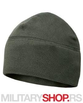 Zimska flisana kapa zelene boje Armoline