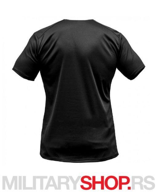 CoolMax sportska termo majica crna