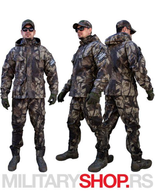 Maskirna uniforma HUNTER Lovac šara Les Šuma