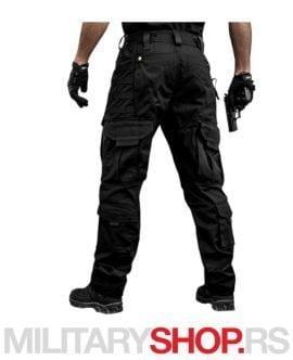 Storm taktičke pantalone crne 100% pamuk
