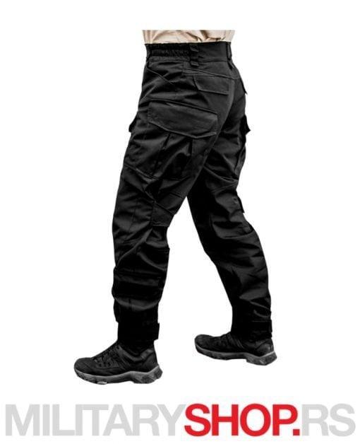 Pamučne pantalone Armoline Tornado 2 crna boja