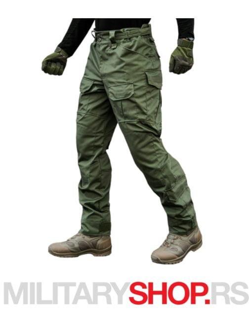 Maslinasto zelene pantalone TORNADO 2