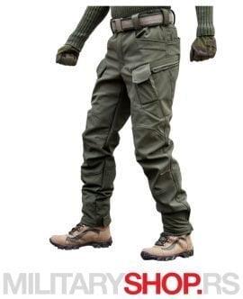 Pantalone maslinasto zelene Division Softshell