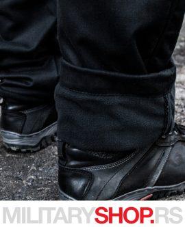 Crne pantalone sa postavom Raptor