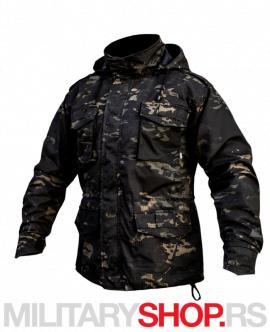 Armoline maskirna M65 jakna Black Multicam