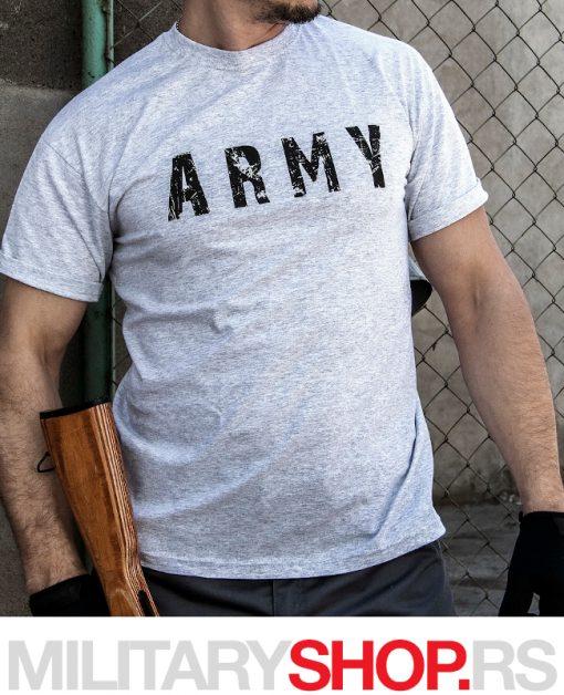 Siva vojnička majica ARMY Armoline