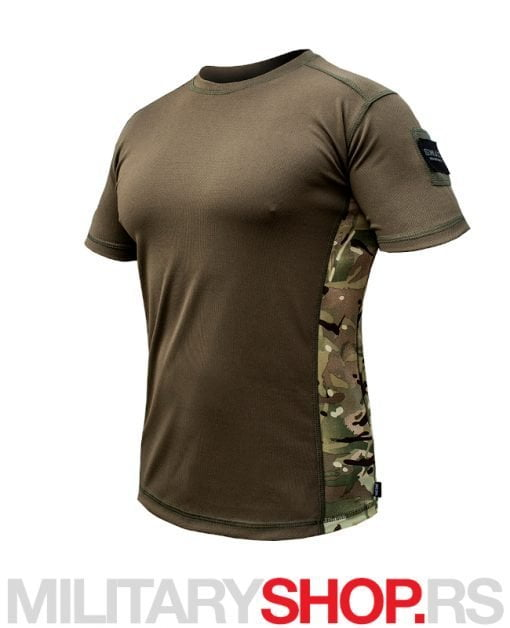 SWAT Coolmax zelena majica sa multicam detaljima