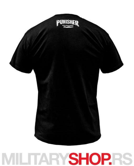 Punisher majica crna boja ARMOLINE
